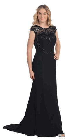 black evening gown #eveninggown #specialoccasiondress #pageantdresses