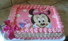 Mini Mouse 1st Birthday, Mini Mouse Cake, Minnie Mouse Birthday Cakes, Mickey Mouse Cupcakes, 1st Birthday Cakes, Mickey Birthday, Bolo Minnie, Minnie Cake, Mickey Cakes