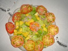Receta para ensalada de estacion- Comida cubana
