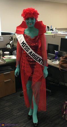 Miss Argentina - Halloween Costume Contest at Costume-Works.com  sc 1 st  Pinterest & Miss Dead Receptionist aka u0027Miss Argentinau0027 Costume. $49. How cool ...