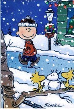 Peanuts Christmas, Charlie Brown Christmas, Christmas Art, Funny Christmas, Grinch Christmas, Christmas Holiday, Snoopy Und Woodstock, Snoopy Love, Woodstock Bird
