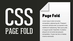 CSS Page Fold