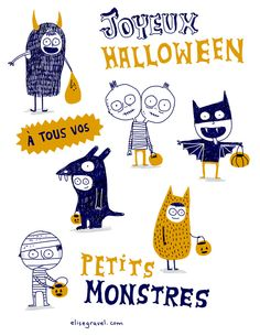 Elise Gravel • Halloween