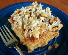 When a friend brought this to a church supper, EVERYONE insisted on getting the recipe. Very moist and delicious.