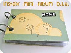 Instax Mini Album DIY | A Bird Out of Water