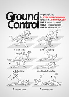 Ground Control Workout More