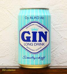 Sinebryckoff Gin 1990s