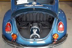 Electric car conversion kits for VW Beetle is available now. This is awesomely cool and definitely helps to conserve automobile history and at the same time contribute to the ecological revolution. What a cool every day ride.