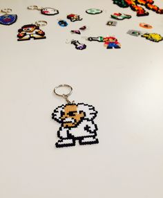 I love Megaman, I saw this piece at Twitchcon 2016 and wanted my own. The Creator, My Love, Unique Jewelry, Handmade Gifts, How To Make, Fictional Characters, Vintage, Art, Kid Craft Gifts