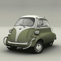 The Isetta 1962 Top Gear Bmw Isetta Microcar Bmw Classic Cars Microcar, Bmw Isetta 600, Bmw Autos, Bmw Classic Cars, Cute Cars, Small Cars, Car Car, Sport Cars, Bmw Sport