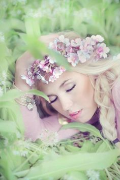 Dreaming among the wildflowers.  TG
