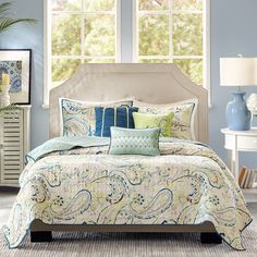 Madison Park Tamira 6 Piece Coverlet Set