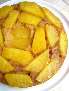 Fresh Pineapple Upside Down Cake | A Hint of Honey