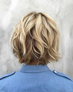 Love tag teaming with my girl, @riawnacapri!  How amazing is this cut?!   Color by me for the amazing, @jennaelfman.