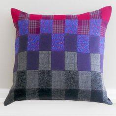 Vintage Repurposed Wool Decorative Patchwork by MaricFineGoods, $89.00
