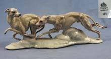 large italian greyhound,sighthound,whippet,figurine rosenthal,rare,perfect,1935