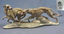 large italian greyhound,sighthound,whippet,figurine rosenthal,rare,perfect,1935