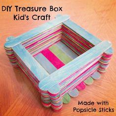 DIY Treasure Box Kid's Craft