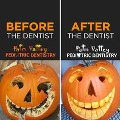 SCHEDULE AN APPOINTMENT and undergo your own smile transformation just in time for Halloween!  Palm Valley Pediatric Dentistry  #parenting #diet #exercise #fitfam #FunThingsToDoAloneOnHalloween #FlashbackFriday #fridayreads #inspiration #dentistry #healthcare #teeth #dentist #child #smile #health
