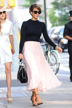 Jessica Alba paseando por NY
