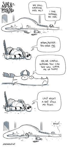 Another Slack Wyrm comic.