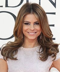 Maria Menounos Hairstyle: Formal Long Straight Hairstyle