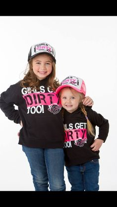 Off-road vixens gear for little girls! So cute!!