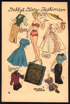Katy Keene Comic Book Paper Doll 2514   eBay