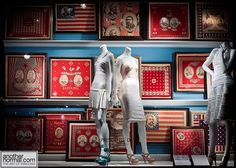 shopping is a surefire mood booster, even if your wallet would like to think otherwise. there's no harm in browsing! here, a fabulous window of a new york legend, bergdorf goodman.