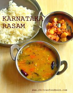 Karnataka style Rasam recipe for rice, Bele rasam, Dal rasam for rice. Veg Recipes, Indian Food Recipes, Asian Recipes, Vegetarian Recipes, Chicken Recipes, Cooking Recipes, Ethnic Recipes, Dessert Recipes, Thai Street Food