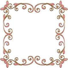 frame with swirls png by Melissa-tm on DeviantArt Printable Border, Printable Frames, Page Borders Design, Border Design, Hand Embroidery Patterns Flowers, Alcohol Ink Crafts, Border Pattern, Frame Clipart, Borders And Frames