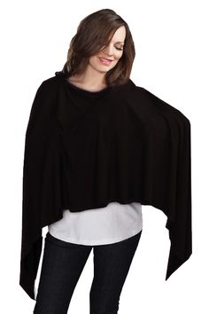 Solid Color Nursing Cover Scarf by Maternal America | Stylish Nursing Covers    available at www.duematernity.com