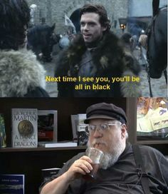 Game of Thrones - George RR Martin trolling