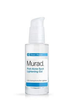 The Best Way To Get Rid Of Acne Scars #refinery29  http://www.refinery29.com/acne-scar-lighteners#slide-6  Hydroquinone is effective at fading dark scars and other post-breakout marks. It's a common active ingredient in skin-lightening formulas, including this gel from derm-created line Murad. A few things to know: Apply it to just the affected area (or it could lighten the rest of your complexion, too) after washing your face and before applying your moisturizer. Als...