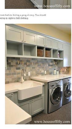 Laundry Room...So Nice!