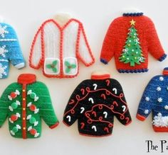 Ugly sweater cookies !?