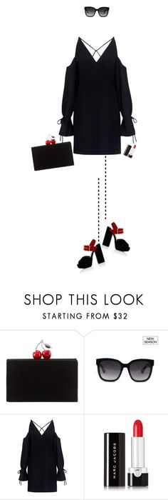 """""""..."""" by rasa-j ❤ liked on Polyvore featuring Edie Parker, Gucci, IRO, Marc Jacobs, Prada and womensFashion"""