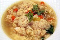 Hearty & delicious Chicken Matzo Ball Soup