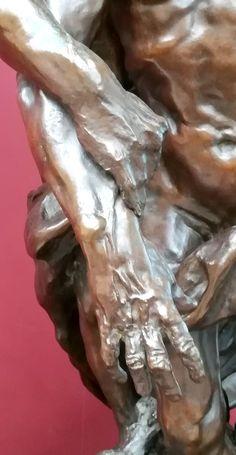 L'âge mûr (détail) vers 1890 par Camille CLAUDEL (1864-1943). Bronze. Grand Palais, Paris. Photo : Hervé Leyrit