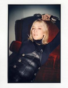 Vogue Magazine, May 2015, with Chloe Sevigny wearing our 1980s vintage Christian Dior necklace.