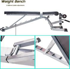 Merax Deluxe Foldable Utility Weight Bench Adjutable Sit up AB Incline Bench Gym Equipment Black Continuously the item at the image link. (This is an affiliate link). Homemade Gym Equipment, Diy Gym Equipment, No Equipment Workout, Adjustable Bench Press, Adjustable Weight Bench, Home Made Gym, Diy Home Gym, Home Weight Training, Home Gym Bench