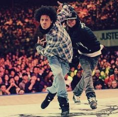 Les Twins, Laurent and larry bourgeois