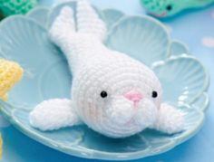Amigurumi Seal Free Pattern : For Sammy Jo on Pinterest Baby Seal, Seals and Amigurumi ...