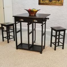 3-Piece Charles Bar Set