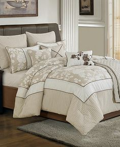Lara 10 Piece Full Comforter Set - Bed in a Bag - Bed & Bath - Macy's
