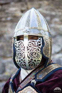 "Mittelalter Helm ""König des Ostens"""