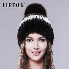 3b24908b 8 Great Real Mink Fur Hat (FH-090)-Made by MBA Furs images | Beanie ...