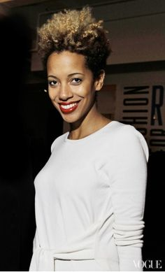 Beauty Staple: Carly Cushnie's Bleached Ombré Crop - Vogue Daily - Fashion and Beauty News and Features - Vogue