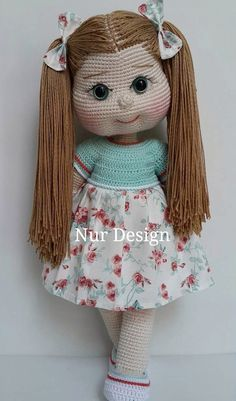 crochet handmade amigurumi dol
