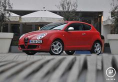 Alfa Romeo MiTo UK Version With design cues taken from the stunning Alfa Romeo Competizione , and only available as a hatchback, the. Alfa Romeo 8c, Alfa Romeo Cars, Product Launch, Vehicles, Model, Red, Pictures, Collection, Photos